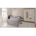 Гарнитур спальный Фиеста Комод + Зеркало + Кровать 1600 + Тумба + Шкаф 4-х створчатый цвет венге/дуб лоредо