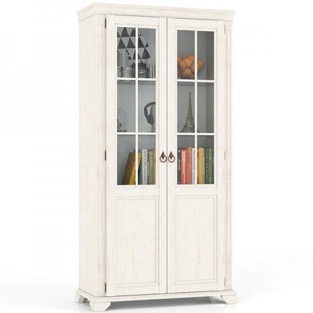 Шкаф сервант двустворчатый стеклянные двери