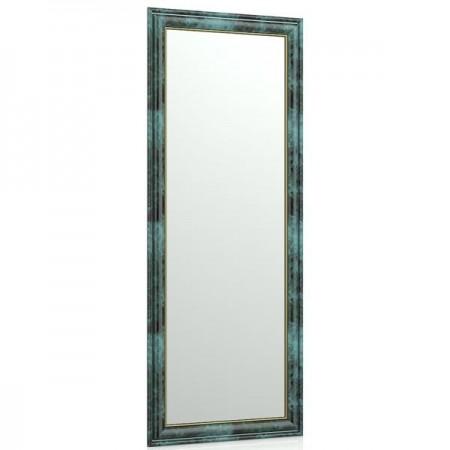 Зеркало в прихожую 120 40х100 см. рама малахит