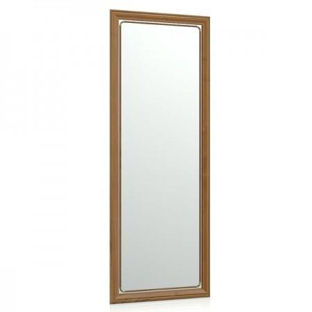 Зеркало 50х130 см. 118С рама тёмный орех