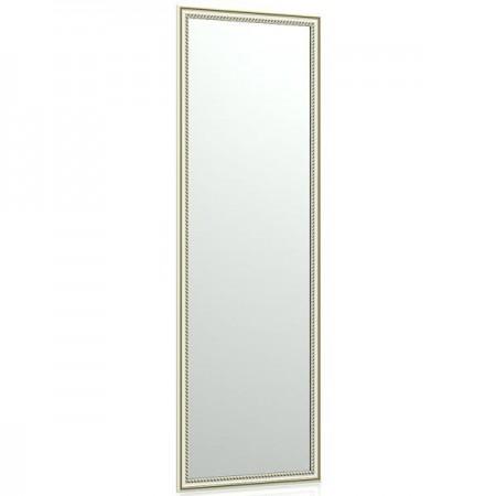 Зеркало 120Б 40х120 см. рама белая косичка