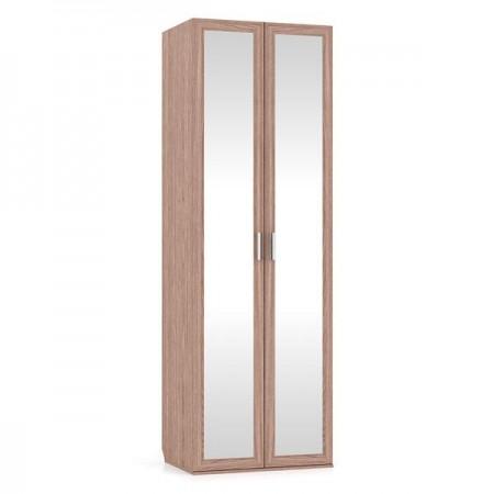 Аврора ясень шимо ШК-21З2 Шкаф для одежды два зеркала