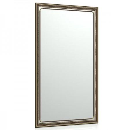 Зеркало в раме 121С 55х95 см. рама коричневая косичка