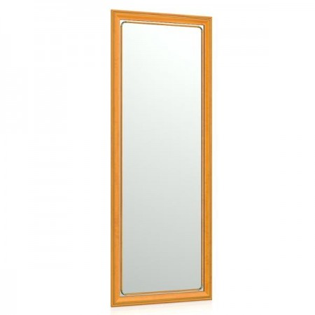 Зеркало 50х130 см. 118С рама вишня