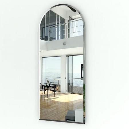 Высокое зеркало с фацетом 059Ф 50х120 см.