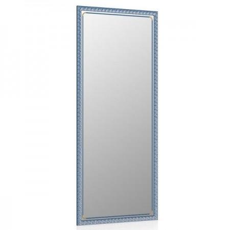 Зеркало 119Б синий металлик, греческий орнамент