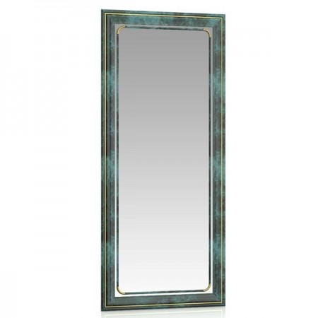 Зеркало 39х90 см. 118У малахит