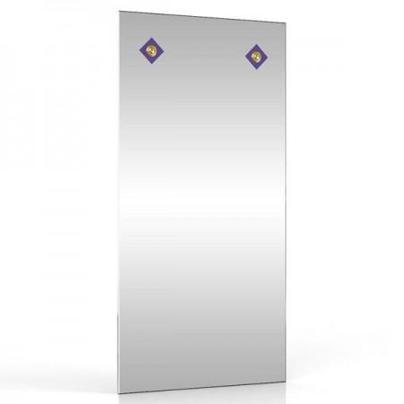 Зеркало 40х80 см. 403С-2В синий ромб