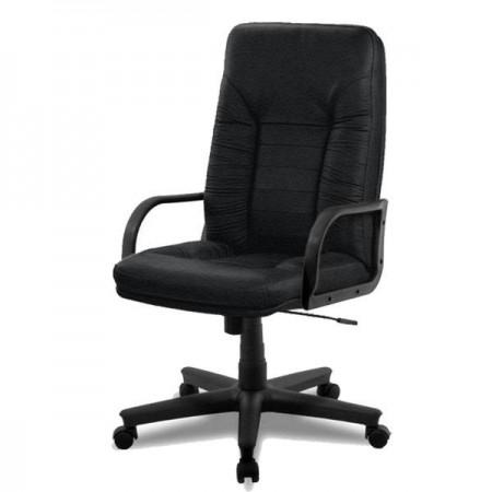 Директорское кресло Танго 1П эко-кожа, цвет чёрный