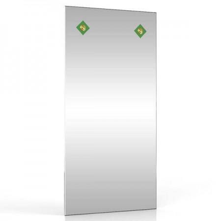 Зеркало 40х80 см. 403С-2В зелёный ромб