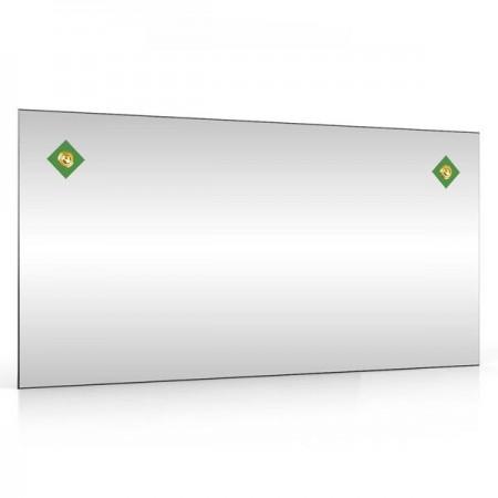 Зеркало 403С-2Г ромбики зелёные