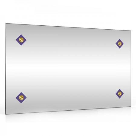 Зеркало 45х75 см. 402С-4 ромбик синий
