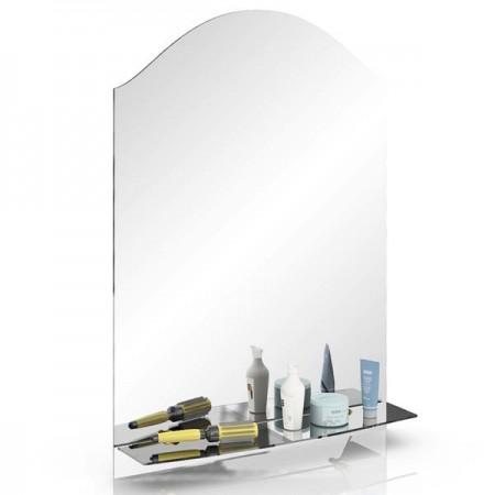 Зеркало 322М1, с полкой, с вулканической обработкой кромки