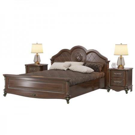 Да Винчи Кровать 1600 с двумя прикроватными тумбочками