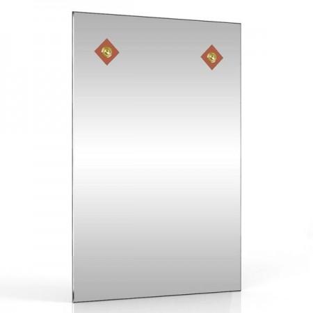 Зеркало 401С-2В коричневый ромб