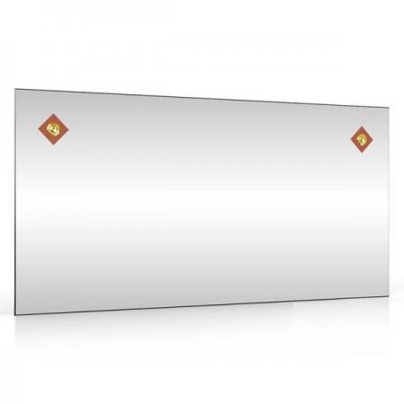 Зеркало 403С-2Г ромбики коричневые