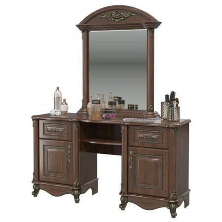 Да Винчи орех Стол туалетный с зеркалом