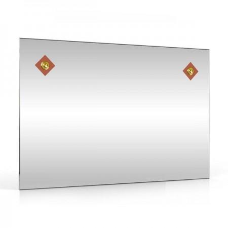 Зеркало 60х40 см. 401С-2Г коричневый ромб
