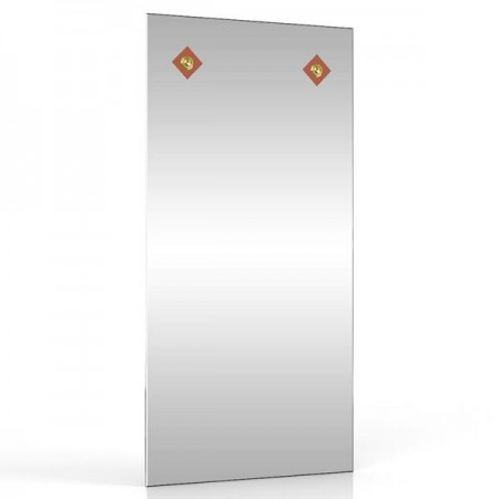Зеркало 40х80 см. 403С-2В коричневый ромб