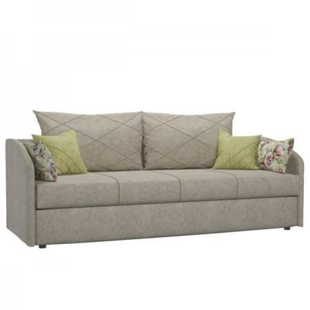 Диван-кровать Лавли ТД 137 песочный с подушками