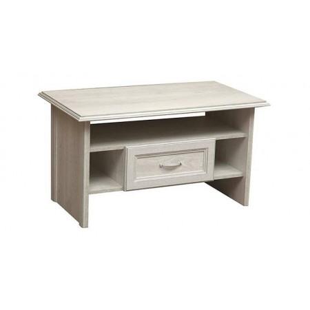 Журнальный столик Сохо 32.20 бетон белый/бетон патина