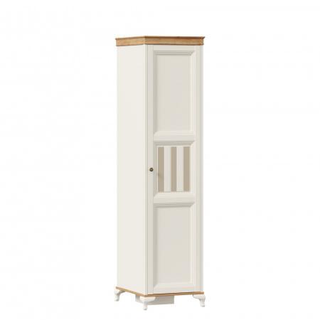 Вилладжио ЛД-680-070 шкаф одностворчатый цвет алебастр/дуб золотой
