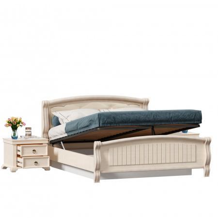 Амели Кровать 1800 с подъёмным механизмом + две тумбы
