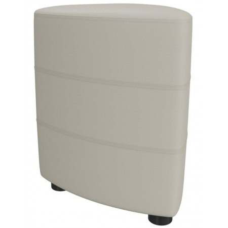Банкетка для прихожей Норд 6-5117 бежевая искусственная кожа